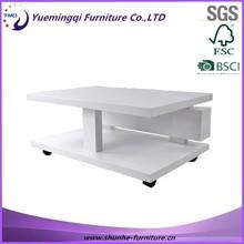 Barato moderno mesas de café y de color brillante muebles