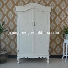 Chantilly wood wardrobe bedroom boudoir armoire wood tall boy wardrobe armoire french bedside storage cabinet design