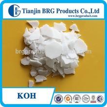 Industrial Grade Potassium Hydroxide Flakes(KOH)Caustic Potash 90% 95% Cas No.:1310-58-3
