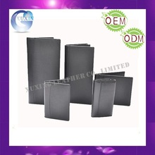 Promotional use Leather check book holder Cheque book cover