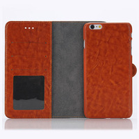 Multi-function wallet back phone case for apple i phone 6 plus
