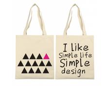 PVC free shopping bag promotion walmart tote bag