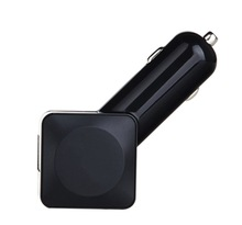 portable dual usb car charger, 4 usb ports for smartphones