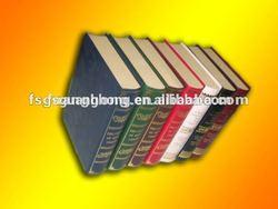 Hot sale FB009 fake book ,hollow book box,colorful decorative book