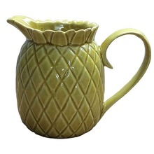 Pineapple Creamer Dispenser Ceramic Jug