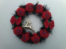 aritificial christmas wreath for 2012