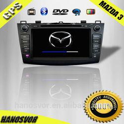 Touch sreen car dvd gps function for Mazda 3 navigation