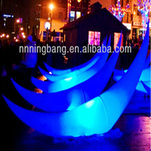 NB-CO3003 Beautiful New Design inflatable LED moon for party