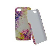 High quality wholesale for iphone 5 custom back cover case with water transfer craft