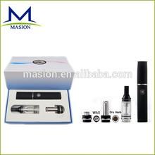 2014 ego wax & dry herb& oil vaporizer pen style kit one battery wax vaporizer pen exgo w3