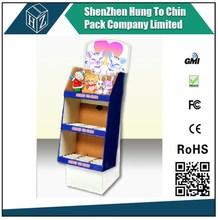 China factory direct selling eco-friendly high quality retail display shelf cardboard paper showroom display shelf