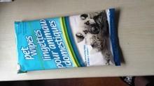 pet wet towels, pet skin cleaning wet towels