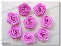 fita de cetim rosa flor