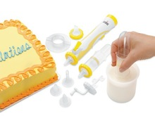 As Seen on Tv Frosting Deco Pen and Accessories 15 Pieces