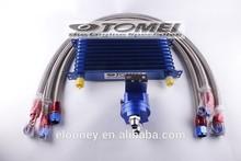 TOMEI 10/13/15 Rows Universal Aluminum Racing Car Oil Cooler Kit