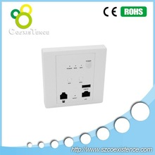 new jack design WiFi ap 300mbps In Wall Access Point 2.4ghz indoor in wall ceiling access point
