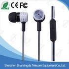 2015 SXD China wholesale metal earphone manufacture product looking for representation
