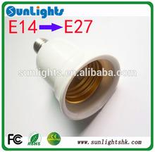 ceramic heat lamp base E14 to E27 adapter socket