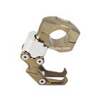 Bronze Universal Motorcycle Carry Helmet Hanger Holder Aluminum Hook For Harley