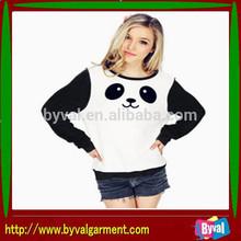 Panda hoodies /OEM cute hoodies/logo design hoodies for unisex