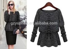 Mujeres de manga larga suéter para mujer alta - modelos de gama