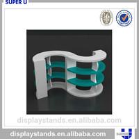 small plastic shelf display stand