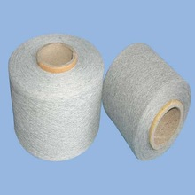 low price carded recycled open end blended yarn cotton and polyester