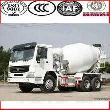 SINOTRUK manufacturer HOWO self loading concrete mixer truck