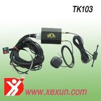 satellite based vehicle tracking system tracking gps tk103 car gps tracker dual sim card better than coban tk103B