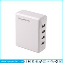 2014 manufacturer 34W 6.8A 4 USB Port USB international adapter