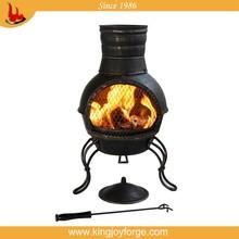 garden cast iron outdoor heater chiminea