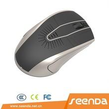 SEENDA unique design 2.4G wireless mouse with speaker 2014