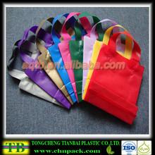 custom plastic festival gift bag
