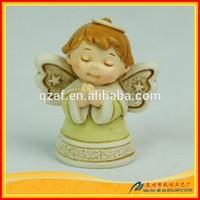 Polyresin Wholesale Cartoon Angel Small Craft Doll