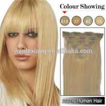 100% human hair weft remy brazilian human hair blonde virgin hair silky straight