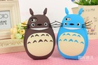 Newest for iphone 5 5S cute 3D Cartoon TOTORO Silicon Case,silicon back Cover for iphone 5 100pcs/lot Free shipping