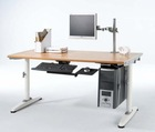 Electri Sit and stand desk/table frame all metal fixed