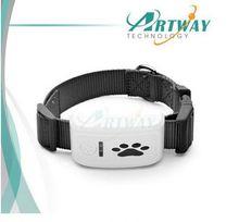 2015 New Factory Mini Waterproof Pet Tracker Collar dog training collar