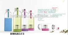 Innovative Glass Filter Tea Tumbler
