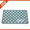 Safe plastic bathroom tidy for baby bathroom floor mat