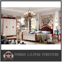 Classic luxury wedding new model italian bedroom furniture