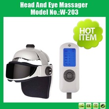Good Quality Vibrating Head and Eye Care Massager With Heating and Music In Stock