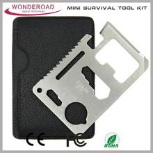Mini pocket survival tool card Mini Tool card Pocket Credit Card Knife Camping Survival Kit