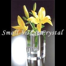 Wedding Table Decoration clear Glass Flower Bud Crystal Vase