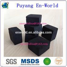 low ash black coconut cube shisha charcoal hookah application