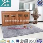 Hot sale grey shaggy area rug for sale