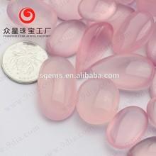 Large Stock Cabochon Rose Quartz gemstone wholesale for rose quartz ring