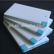 Built-in Mircro USB cable Ultra slim wallet 2500mAh power bank