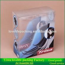 Printed Clear PVC plastic box