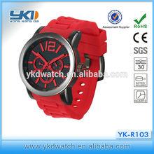 most popular water resistant quartz watch wrist watch glass